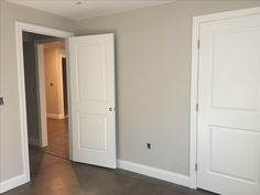 Sherwin williams agreeable gray neutral paint colors, paint colors for home Gray Basement, Basement Paint Colors, Basement Painting, Farmhouse Paint Colors, Grey Paint Colors, Paint Colors For Home, Basement Ideas, Gray Hallway, Basement Decorating