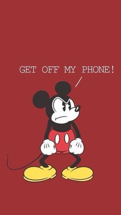 Mickey Mouse Wallpaper Iphone, Lock Screen Wallpaper Iphone, Cartoon Wallpaper Iphone, Iphone Background Wallpaper, Cute Disney Wallpaper, Cute Cartoon Wallpapers, Locked Wallpaper, Iphone Wallpaper Quotes Funny, Phone Quotes