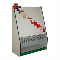C26 12 Tier Card Display Stad & Wrap Unit