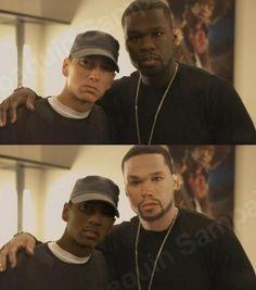 Eminem & 50 Cent Face Swap
