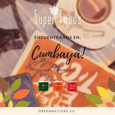 Sabías que @greenmattersec está presente en Cumbayá? Encuéntranos en el lugar más variado de comida orgánica... @superfoodsec !! Aquí podrás disfrutar de nuestras 9 variedades de blends con guayusa! No te lo puedes perder! #cleanenergy #amazonenergy #organic #fairtrade #organico #cumbaya #quito #guayusarevolution #guayusalovers #guayusa #frutas #moringa #hierbas #saludable #tasty #superalimentos #energialimpia #allyouneedisecuador #ecuadoramalavida