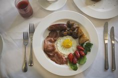 Full English at The Last Word Franschhoek.