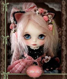 milk tea, milk tea custom blythe, interview, rinkya, japan, blythe dolls
