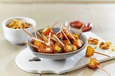 Små munnfuller av dadler med ost. Perfekt å servere som kveldskos eller som en del av et større tapasbord.