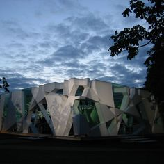 Serpentine Gallery Pavilion 2002 by Toyo Ito