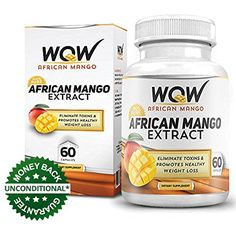 Wow African Mango, 60 Capsules - The biggest Health and Beauty Products screw ups of all time