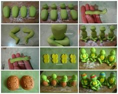 fondant teenage mutant ninja turtles - Google Search