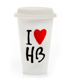 I HEART HENRI BENDEL COFFEE CUP | Gifts For The Home | Henri Bendel