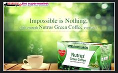Start your Healthy Day in Winter Season with Green #Coffee on #NeedsTheSupermarket :) Online #Grocery Store in Delhi NCR :)   Nutrus Green Coffee Natural Fat Burner Rs 220.00
