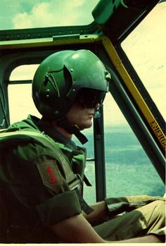 Pilot in his huey.  #VietnamWarMemories https://www.pinterest.com/jr88rules/vietnam-war-memories-2/