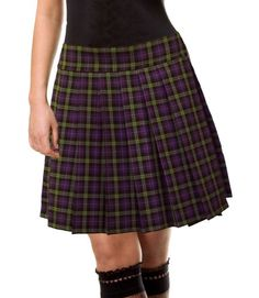 Purple and Green Schoolgirl Tartan Plaid Pleated Mini Skirt Highbury Junior Long Small null http://www.amazon.com/dp/B008A9O090/ref=cm_sw_r_pi_dp_dKmkub1YJEQ81
