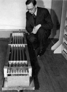 EDSAC Computer's Mercury Delay Line Memory, 1949