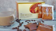 Zhi Mocha – a csokis ganoderma kávé Container, Coffee, Food, Mocha, Kaffee, Essen, Cup Of Coffee, Meals, Yemek