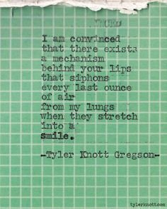 tylerknott:    Typewriter Series #191 by Tyler Knott Gregson