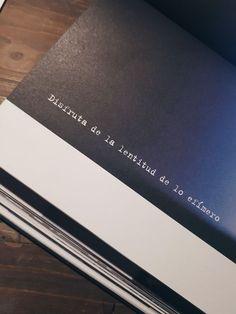 Disfruta de la lentitud de lo efímero. - #de #disfruta #efímero #LA #lentitud #lo Book Quotes, Words Quotes, Me Quotes, Love Phrases, Life Words, Deep Words, More Than Words, Spanish Quotes, Beautiful Words