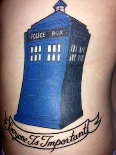 Everyone is important, even the person who got this tattoo and the artist who did it.