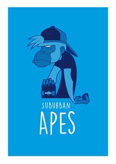 Suburban apes