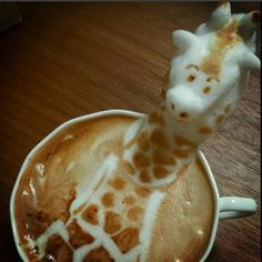 Find out more about these fun 3D Latte Sculptures
