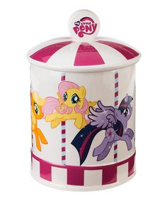 Look what I found on #zulily! My Little Pony Carousel Cookie Jar by My Little Pony #zulilyfinds