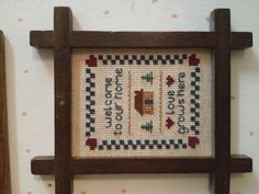 Cross stitch :] I did this exact pattern so many years ago!