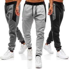 2019 NEW Men Splicing Printed Overalls Casual Pocket Sport Work Casual Trouser Pants Pantalon De Hombre Mens Joggers Mens Jogger Pants, Jogger Sweatpants, Sport Pants, Trouser Pants, Harem Pants, Jogger Pants Style, Work Casual, Men Casual, Fashion Pants