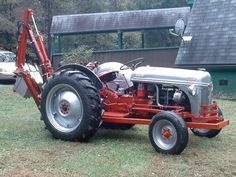 ford 8n tractor backhoe - Google Search