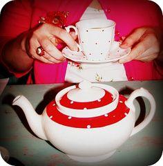Fancy Vintage teapot