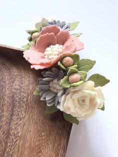 Flower Crafts, Diy Flowers, Fabric Flowers, Paper Flowers, Flower Hair Bows, Flower Crown, Flower Headbands, Diy Baby Headbands, Diy Headband