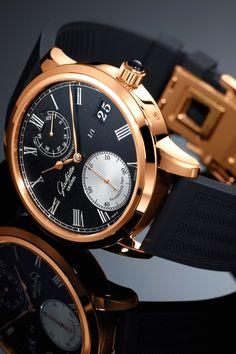 "vividessentials: ""Glashütte Senator Chronometer Only Watch | vividessentials """