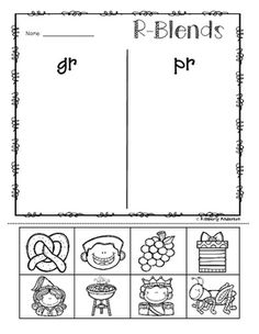 R- Blend Words: Seek, Find and Write- So many activities to help ...