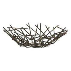 Check out the Arteriors 6179 Grazia Centerpiece in Natural/Brass Welds priced at $168.00 at Homeclick.com.