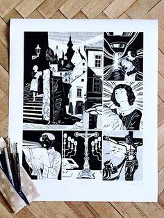 Poklad - Tomáš Motal #komiksovakytice #ceskygrimm #kjerben #poklad Grimm, Art, Art Background, Kunst, Performing Arts, Art Education Resources, Artworks