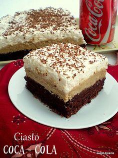 Ciasto Coca - Cola