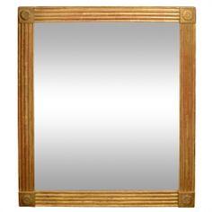 A Giltwood Channel Mirror