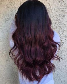 34 Sweetest Caramel Highlights on Light & Dark Brown Hair - 11 Amazing Examples of Black Cherry Hair Colors Informationen zu 34 Sweetes - Cherry Brown Hair, Black Cherry Hair Color, Cherry Hair Colors, Hair Dye Colors, Violet Hair Colors, Fall Hair Colors, Maroon Hair Dye, Black Hair With Highlights, Hair Color For Black Hair