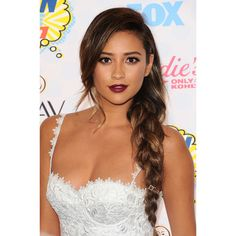 Six Ways with Braids at the 2014 Teen Choice Awards ❤ liked on Polyvore featuring hair