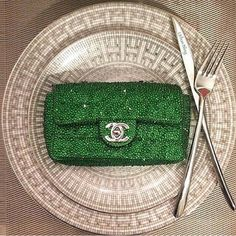 I'll have the Chanel bag as my entree