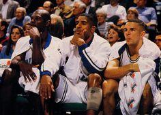 The J's = Jamaal Mashburn, Jimmy Jackson and Jason Kidd- 1995