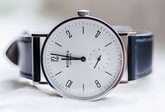 Rodina Automatic White Dial Bauhaus Watch