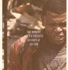 """The moment when a tribute becomes a victor"" #TheHungerGames #Tributes #Victors"