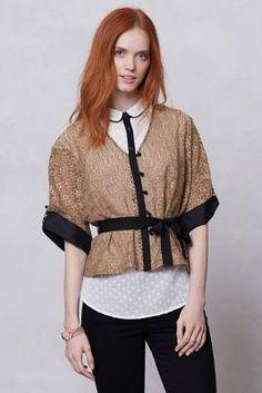 Shakti Lace Kimono Blouse - Anthropologie.com