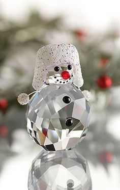 And this!                                                                             Swarovski Snowman 2013