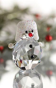 And this!                                                                             Swarovski Snowman 2013