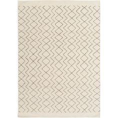 Lighten up your living space with the Surya Dasher Indoor Area Rug. This hand-woven rug features a soft brown and cream color scheme for a modern look. It comes in a range of size options. Accent Rugs, Accent Decor, Do It Yourself Furniture, Transitional Area Rugs, Thing 1, Area Rug Runners, Natural Area Rugs, Cream Area Rug, Woven Rug