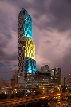 Miami Tower by I.M Pei