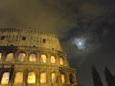 Colosseum on fire!