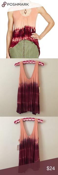 Free People Sebastian Tie-dye Peach Top Size XS Hey Honey! This sale is for a Free People Sebastian Tie-dye Peach Top Size XS. This shirt is new with tags. Please ask any questions you may have because all sales are final. 🚫Trades😊 Free People Tops