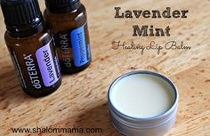 Lavender Mint Healing Lip Balm Recipe