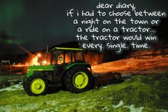 oh how i love tractors