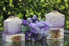 Lavender Milk Gradient Soap
